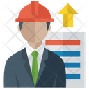 Worker Growth Icon