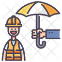 Iinsurance Worker Worker Insurance Worker Icon