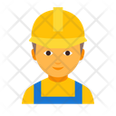 Worker male Icon