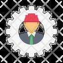 Engineer Builder Constructor Icon