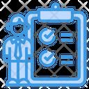 Skills Clipboard Recruitment Icon