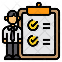 Skills Clipboard Recruitment Icon