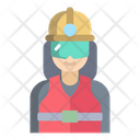 Worker Woman Icon