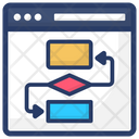 Workflow Process Project Plan Icon