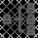 Team Organization Network Icon
