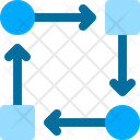Workflow Business Plan Icon