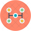 Workflow Business Networking Icon