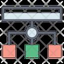 Workflow Diagram Process Icon