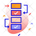 Workflow Planning Project Icon