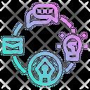 Workflow Flowchart Graphic Icon