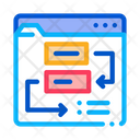 Website Working Process Icon