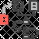 Workflow Process Hierarchy Icon