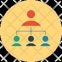 Workflow Algorithm Employee Icon