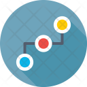 Networking Workflow Process Icon