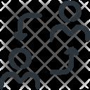 Workflow Human Resource Icon
