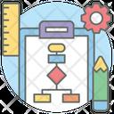 Flowchart Flow Diagram Workflow Process Icon