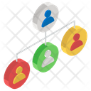 Workforce Employees Workgroup Icon