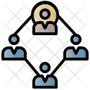 Workforce Organization Connection Business Icon