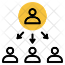 Workgroup Researcher Team Icon