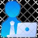 Working Worker Employee Icon