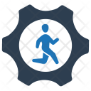 Working Running Job Icon