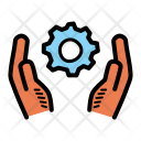 Worker Care Support Icon