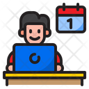 Working Date Work Date Icon