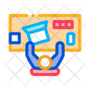 Office Workplace Badge Icon