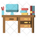 Working Desk Icon