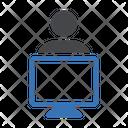 Working User Employee Icon