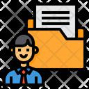 Working File Folder Icon