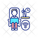 Working From Anywhere Icon