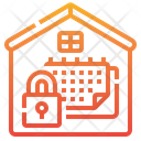 Working Home Schedule Icon