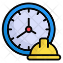 Working Hour Clock Business Hour Icon