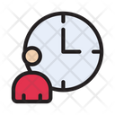 Timetable Working Hours Icon