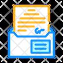 Envelope Message Color Icon