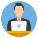 Man Office Job Icon
