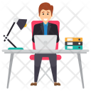 Working Manager Icon