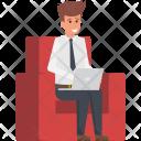 Entrepreneur Programmer Developer Icon