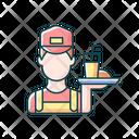 Working Poor Serve Icon