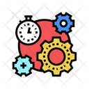 Working Process Time Icon