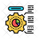 Employee Working Process Icon