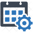 Working Schedule Ability Management Icon