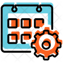 Working Schedule Calendar Appointment Icon