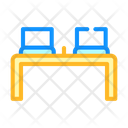 Working Place Table Icon