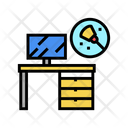 Working Table Cleaning Icon