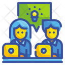 Working Team Group Partner Icon