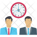 Clock Employees Hours Icon