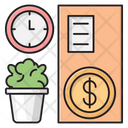 Business Working Time Icon