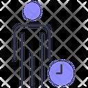 Working Time Employee Work Icon